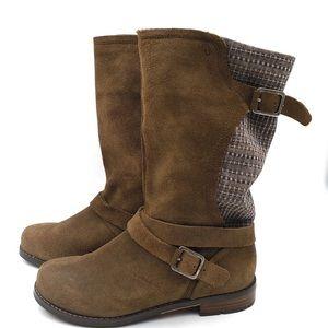 OLUKAI Pa'ia Leather boots size 6.5